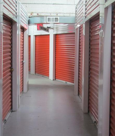 Interior Climate Controlled Storage Units