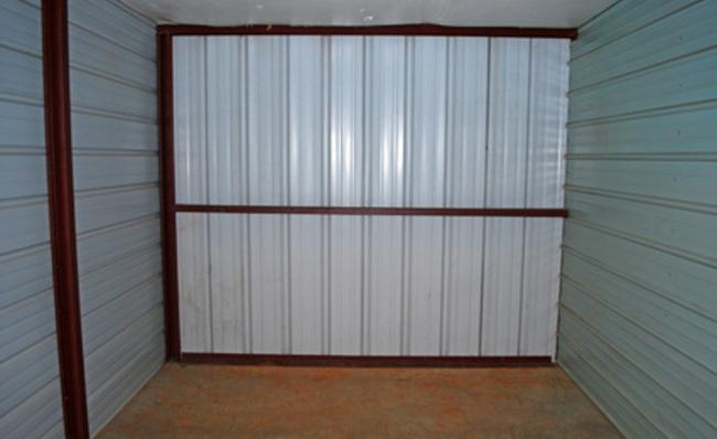 Storage Unit Interior