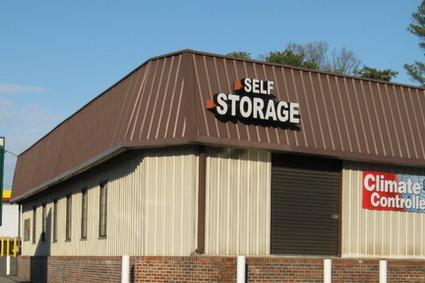 View of Storage Building from US Hwy 431 if you are driving North.
