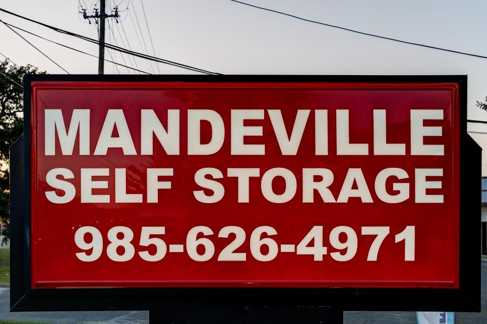 Mandeville Self Storage Sign