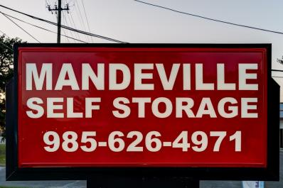 On Location At Mandeville Self Storage, A Self Storage Center In Mandeville,  LA