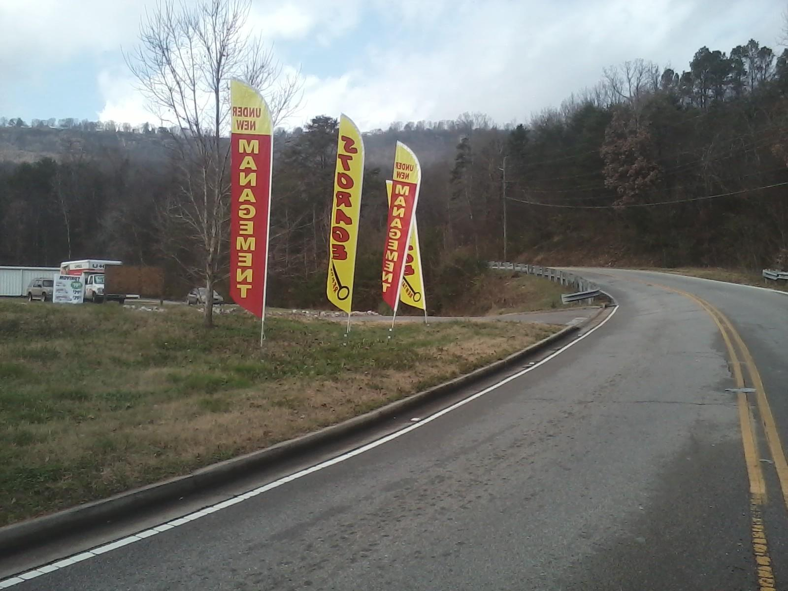 Look For Our Signs and Come Store With Us.
