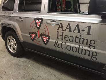 AAA-1 Jeep Graphics Passenger Side