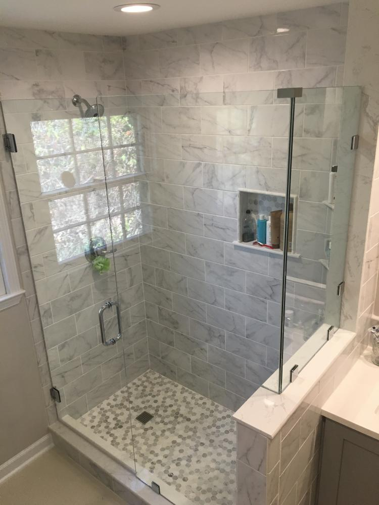 Beautiful Shower - completed! East Hill, Pensacola, FL