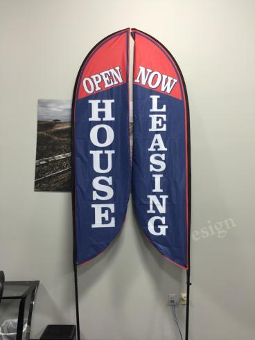 Double Sided Outdoor Flags