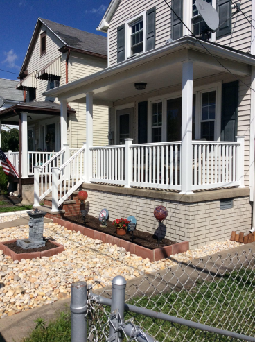 Porch Remodel in Wilkes-Barre