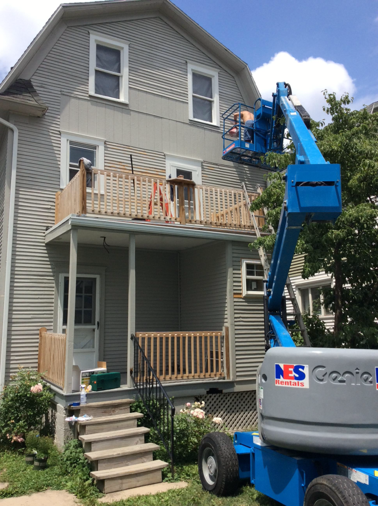 Exterior Painting in Kingston