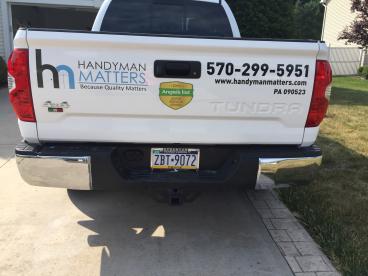 Handyman Matters Truck Tailgate