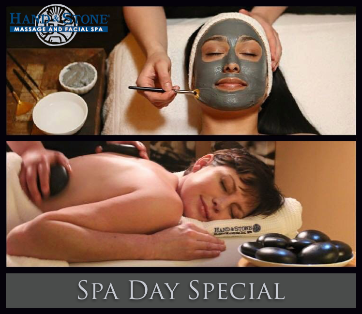Spa Day Special $99.90 Massage and Facial Combo!