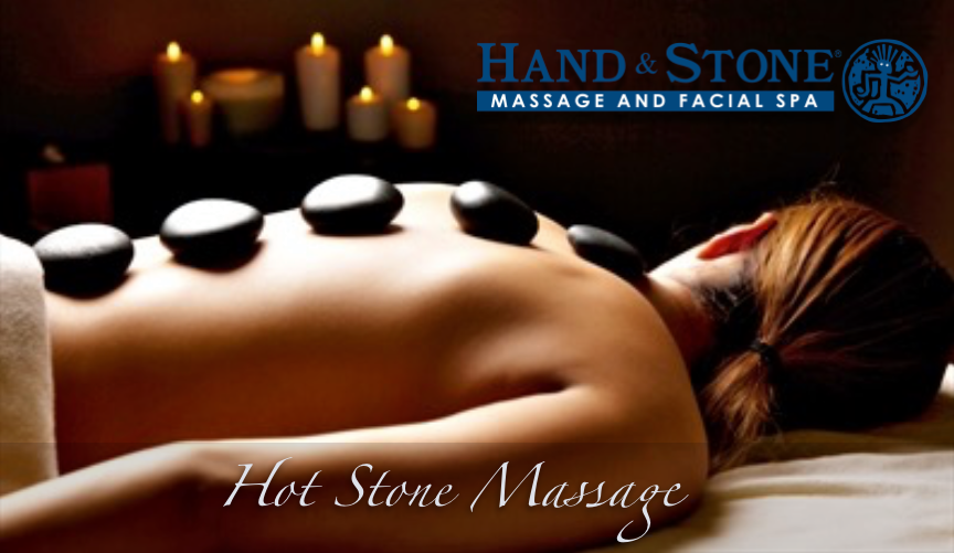 Hot Stone Massage at Hand & Stone Massage and Facial Spa