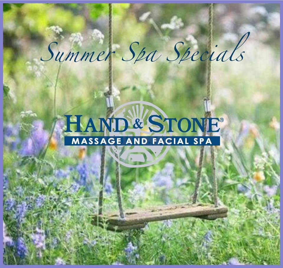 Summer Spa Specials -  at Hand & Stone Massage and Facial Spa