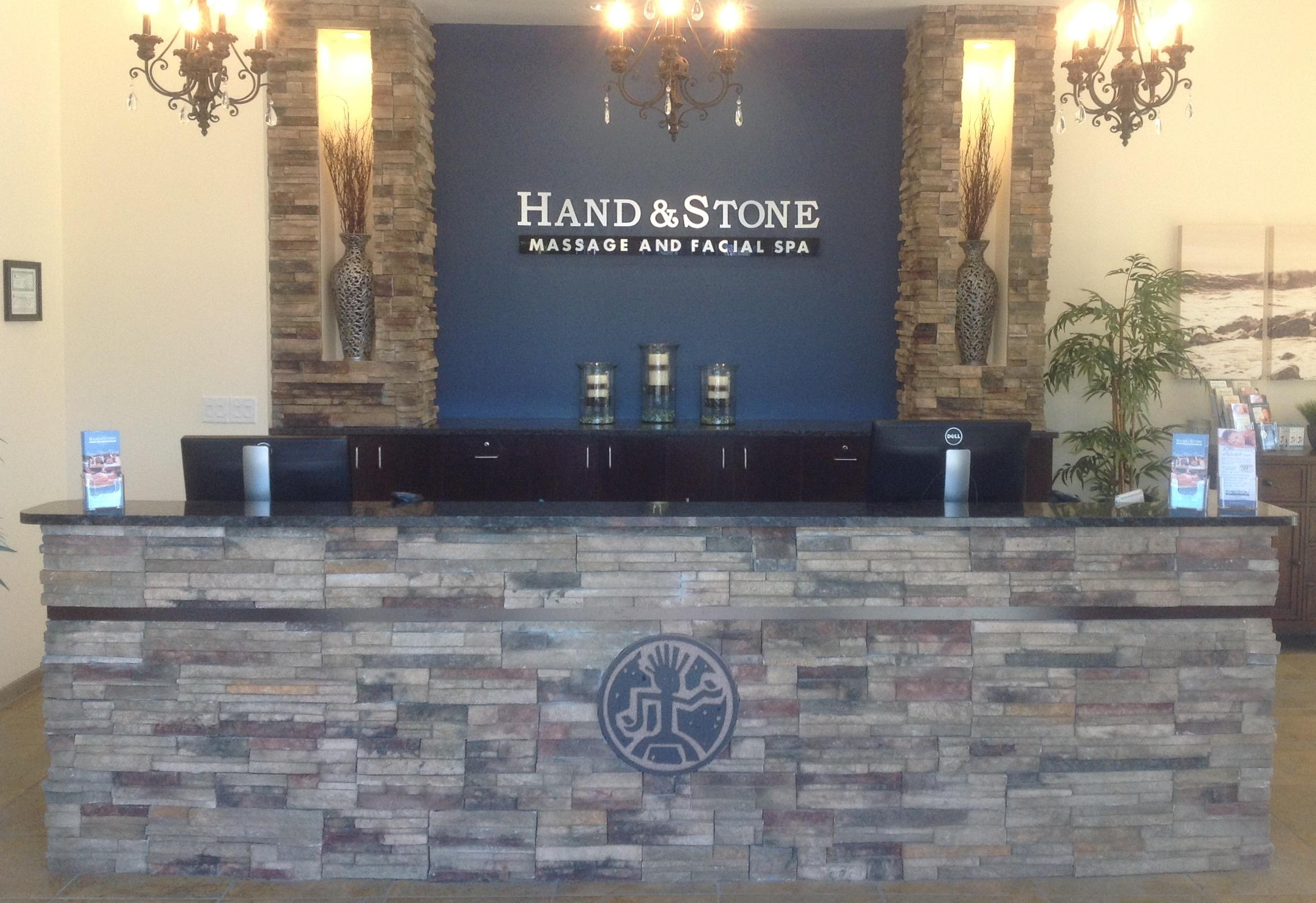 Hand & Stone Spa Bountiful Lobby