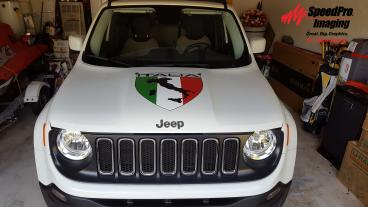 Italia Shield Vehicle Graphics
