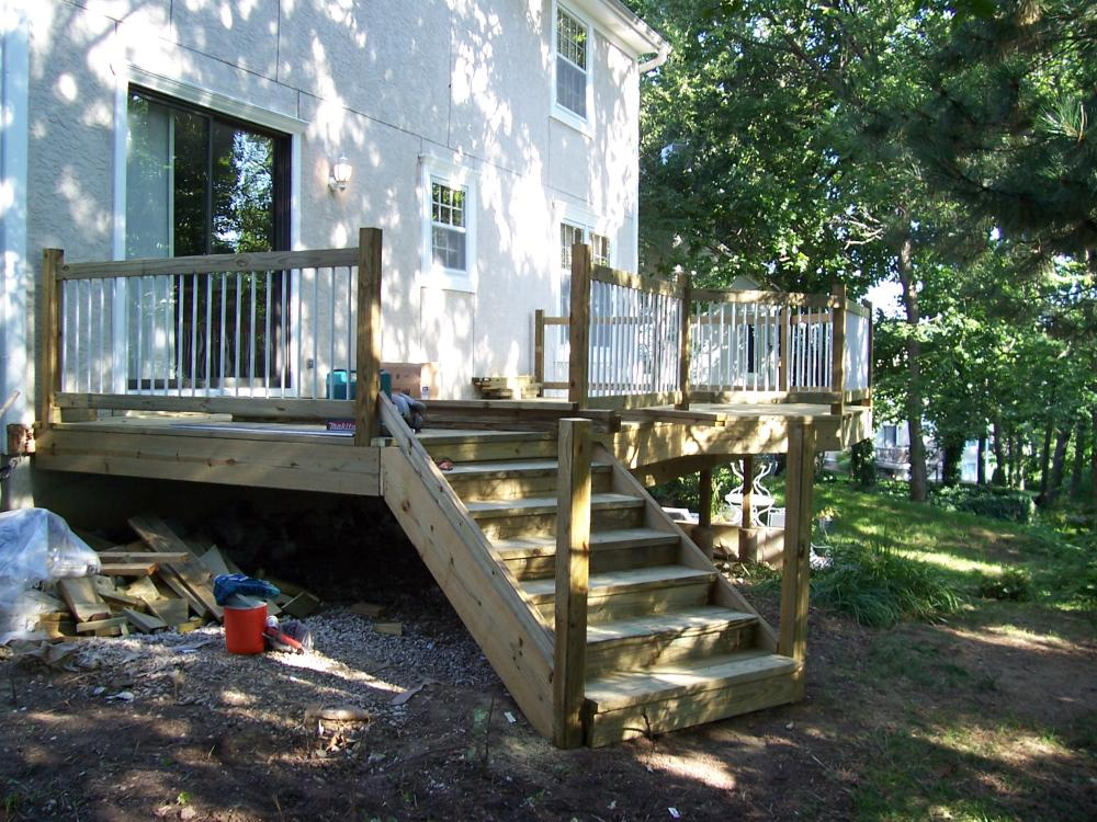 Deck Build - Before