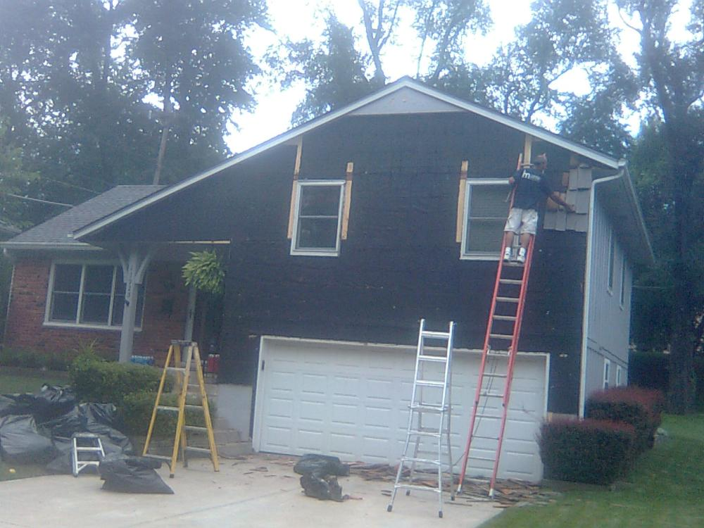 New Siding - Before