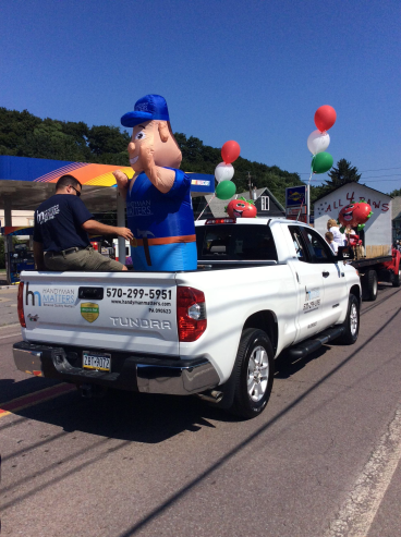 Handyman Matters in the Pittston Tomato Festival Parade