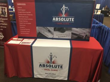 Absolute Legal Clinic - Trade Show Display