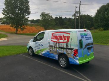 Van wrap for CBS Industrial