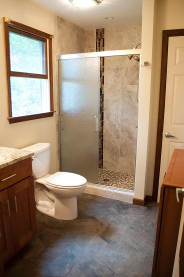 Colonial Park Bathroom Remodel - After