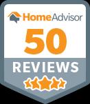 50 Reviews on Home Advisor