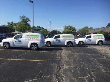 Fleet Wrap - High Rise Security Systems - Burr Ridge
