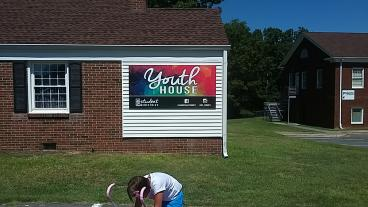 Youth House Sign Completed by Charlotte studio in Indian Land, SC
