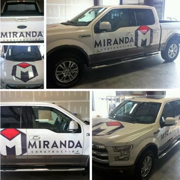 Miranda Construction Vehicle Graphics