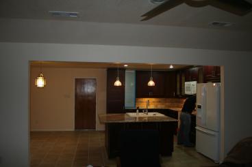(After) Kitchen Remodel. Tile. Carpentry. Drywall.
