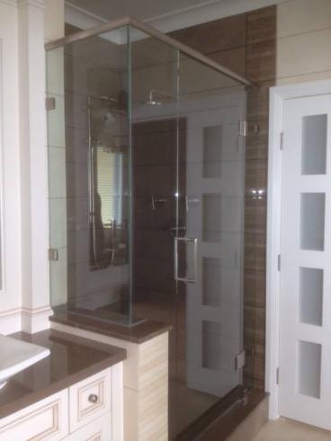 Frameless Glass Shower Enclosure Thumbnail