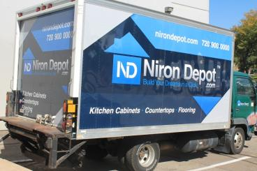 NIron Depot Box Truck Wrap Denver, CO