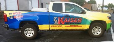 TA Kaiser Heating & Air Covering Nashville and Middle Tennessee areas including Nashville, Franklin