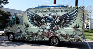Biker Jim's Food Truck wrap Denver, CO