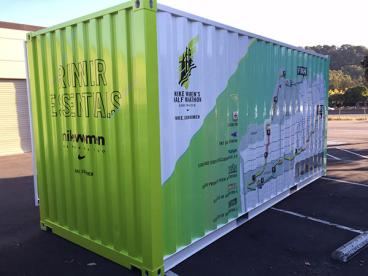 Container Wrap - San Francisco bay Area