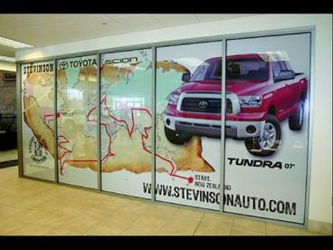 Window Graphics - San Francisco Bay Area
