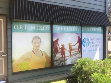 Optimized Wellness Window Graphics Alameda
