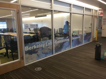 Berkeley Lab window graphics