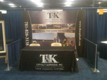 Trade Show Booth - T&K Asphalt
