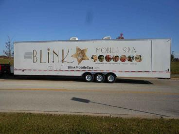 Truck Wrap - Blink Mobile Spa
