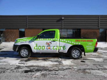 Truck Wrap - Doo Care, Hinsdale