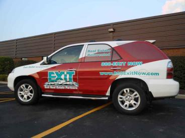 SUV Wrap - Exit Realtors, Downers Grove