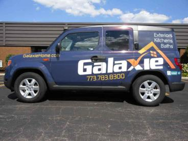 Car Wrap - Galaxie Home
