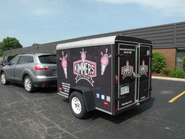 Trailer Wrap - Kimmer's Ice Cream, Wheaton and St. Charles
