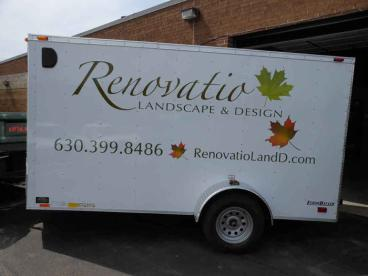Trailer Wrap - Renovatio Landscape & Design - Naperville