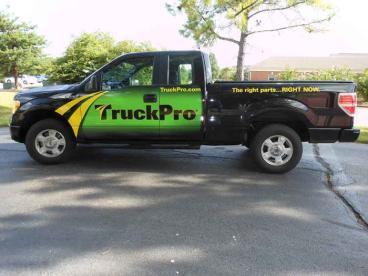 Truck Wrap - TruckPro Fleet