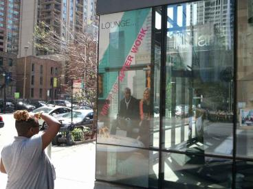 Window Graphics - Dana Hotel, Chicago
