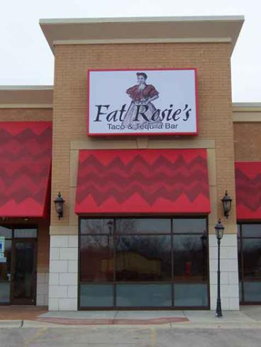 Restaurant Sign - Fat Rosie's
