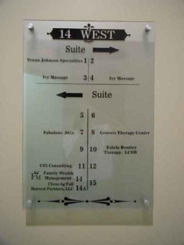 Directional Sign - Office