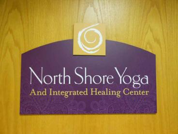 Door Sign - North Shore Yoga