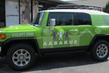 AABAKUS   Vehicle Wrap   Nashville-Franklin-Brentwood-Murfreesboro-Belle Meade-Hendersonville