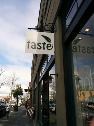 Taste sign